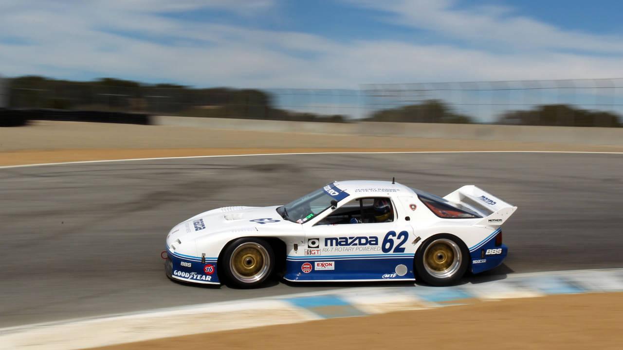 Driving A Mazda Imsa 4 Rotor Rx7 Classic Race Car Drive