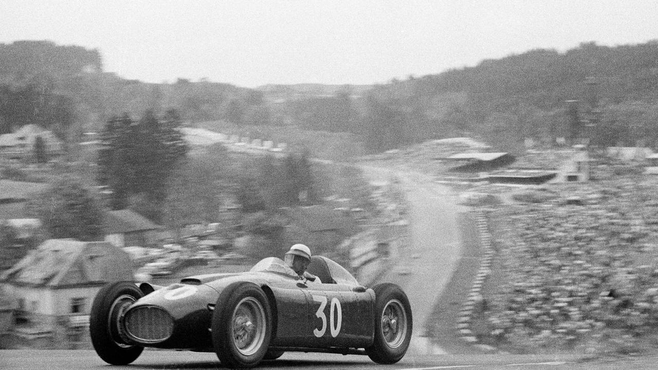 1955 Belgian Grand Prix - Shell Presents Classic F1 Race