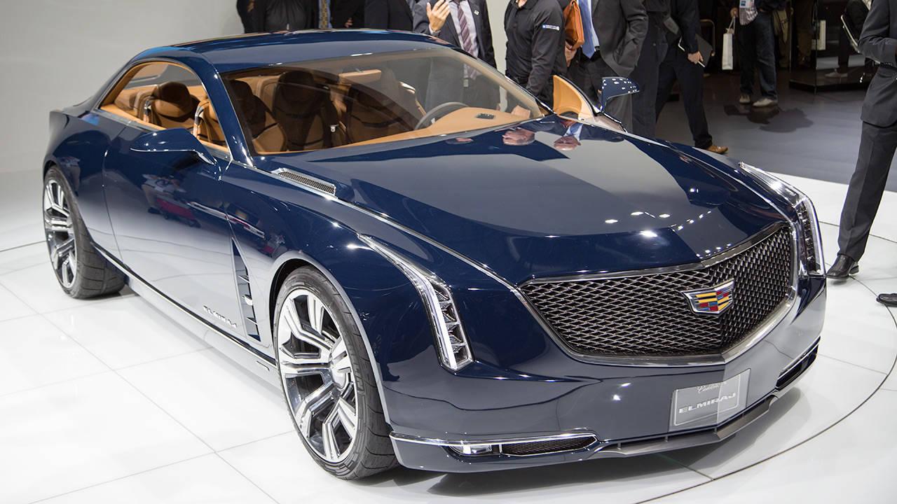 Luxury Vehicle: Cadillac Elmiraj At Frankfurt