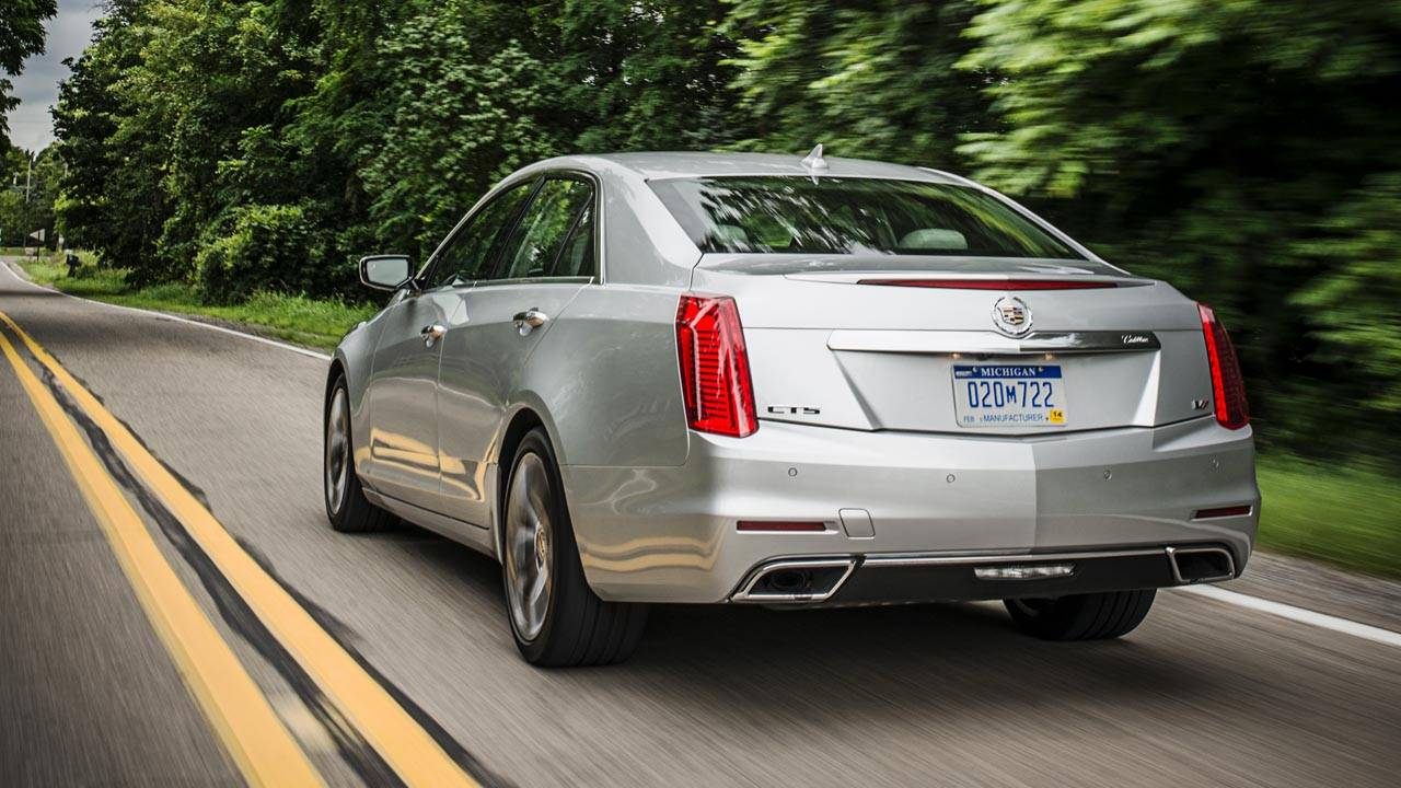 the 2014 cadillac cts vsport first drive road test cadillac cts vsport. Black Bedroom Furniture Sets. Home Design Ideas