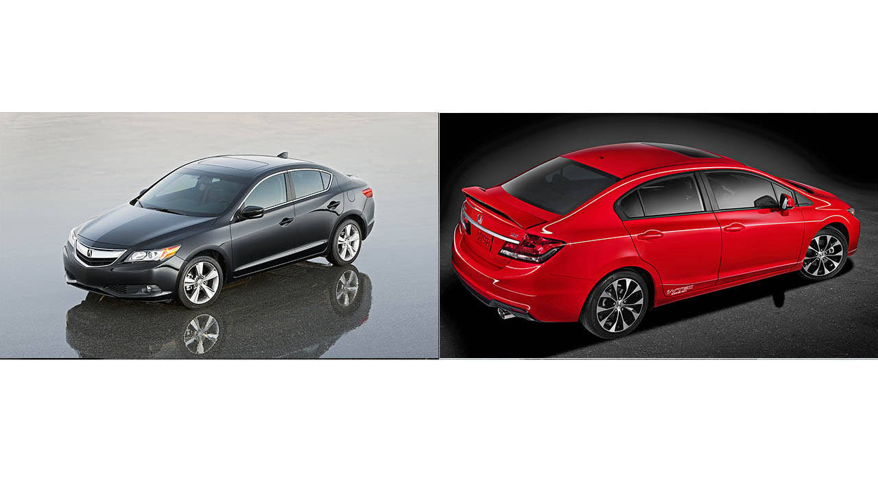 Honda Civic Vs Acura Ilx | 2017 - 2018 Best Cars Reviews