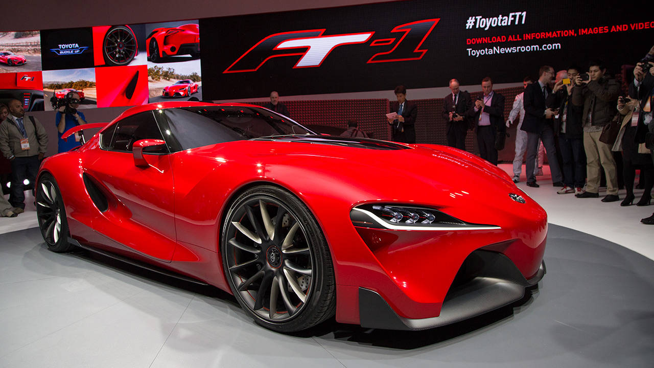 Toyota Ft1 Price >> Toyota FT1 concept - 2014 NAIAS in Detroit