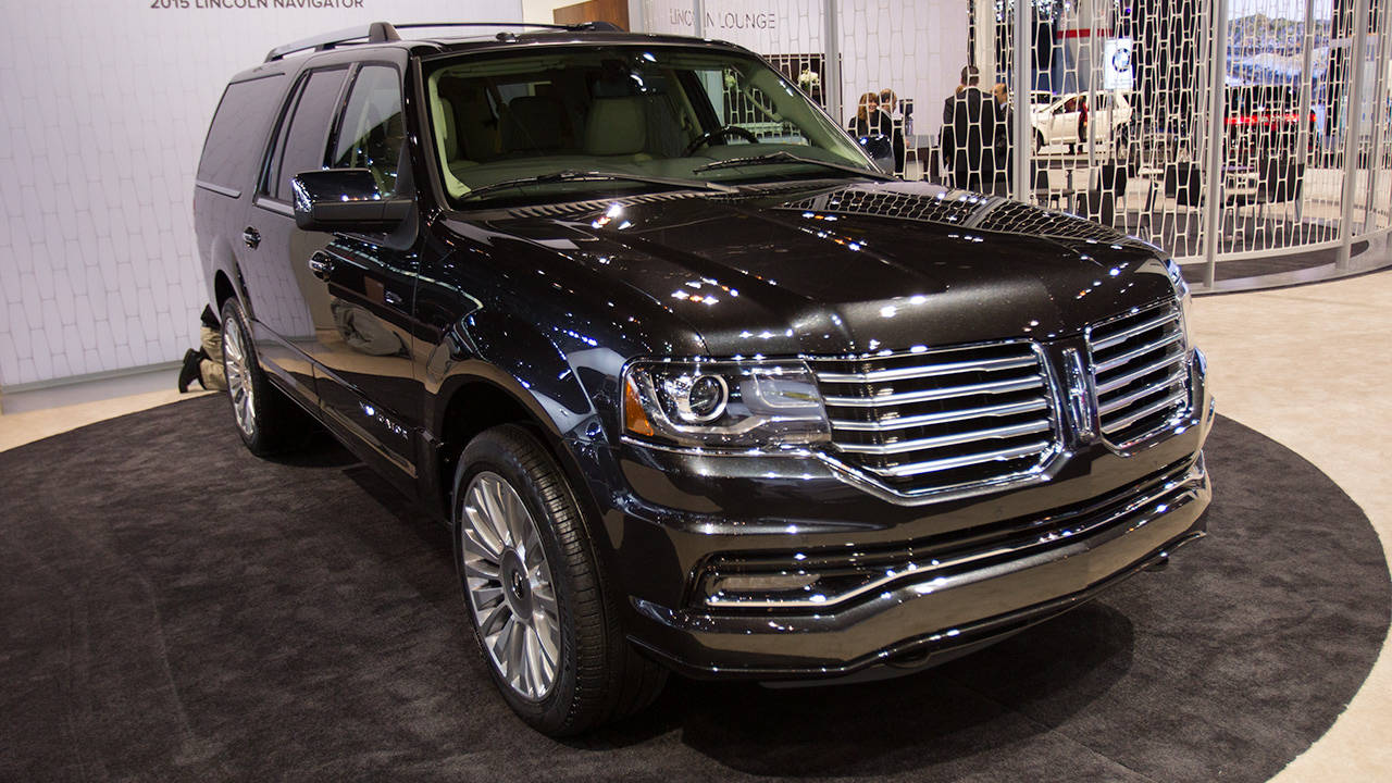 2015 Lincoln Navigator 6 Things We Learned - 2014 Chicago Auto Show