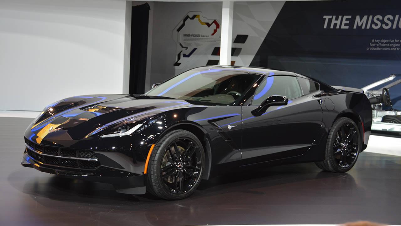 2017 Corvette Black