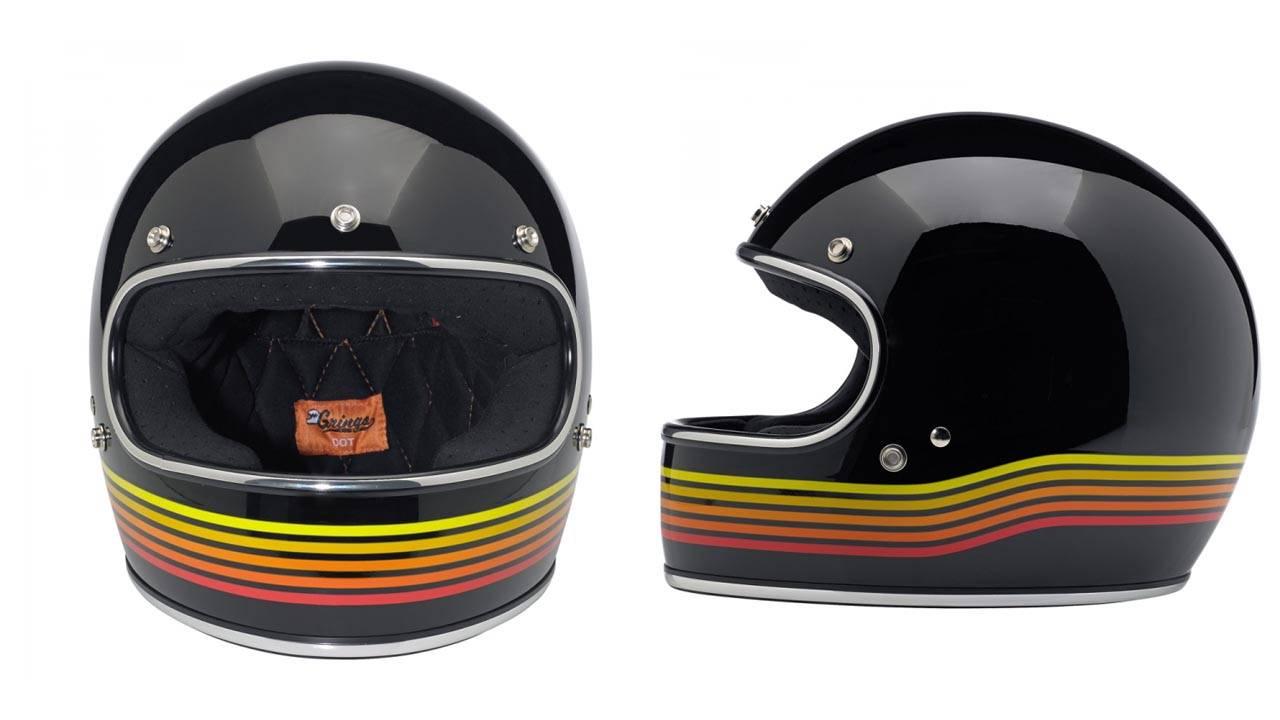 Biltwell Gringo Spectrum Retro Motorcycle Helmet