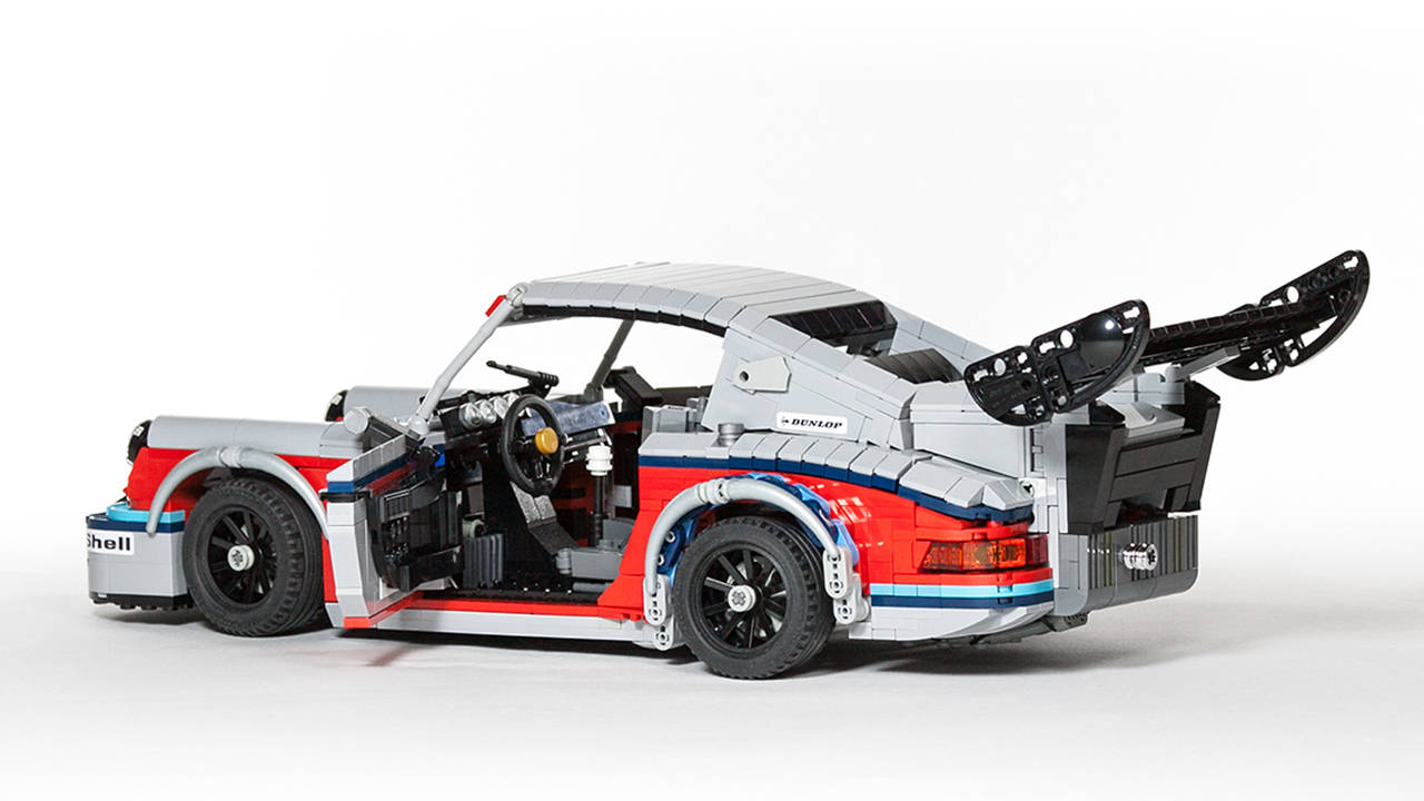 martini liveried porsche 911 rsr legos pop culture. Black Bedroom Furniture Sets. Home Design Ideas