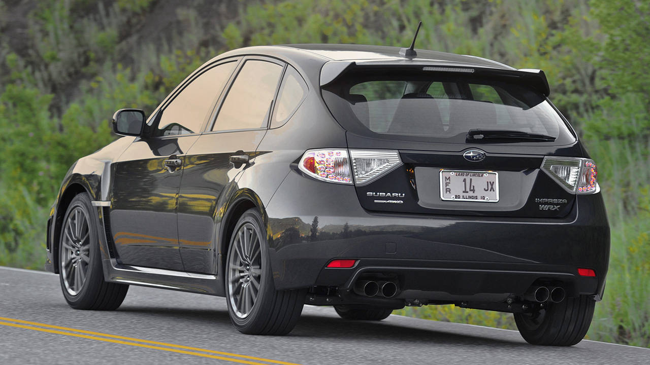Return of the WRX Hatchback - News