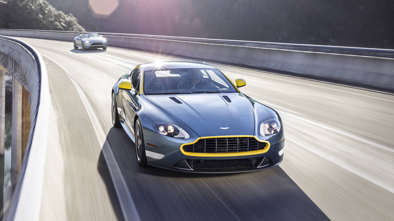 Pay Roadandtrack Com >> Aston Martin Vantage Under $100K - 2014 New York Auto Show