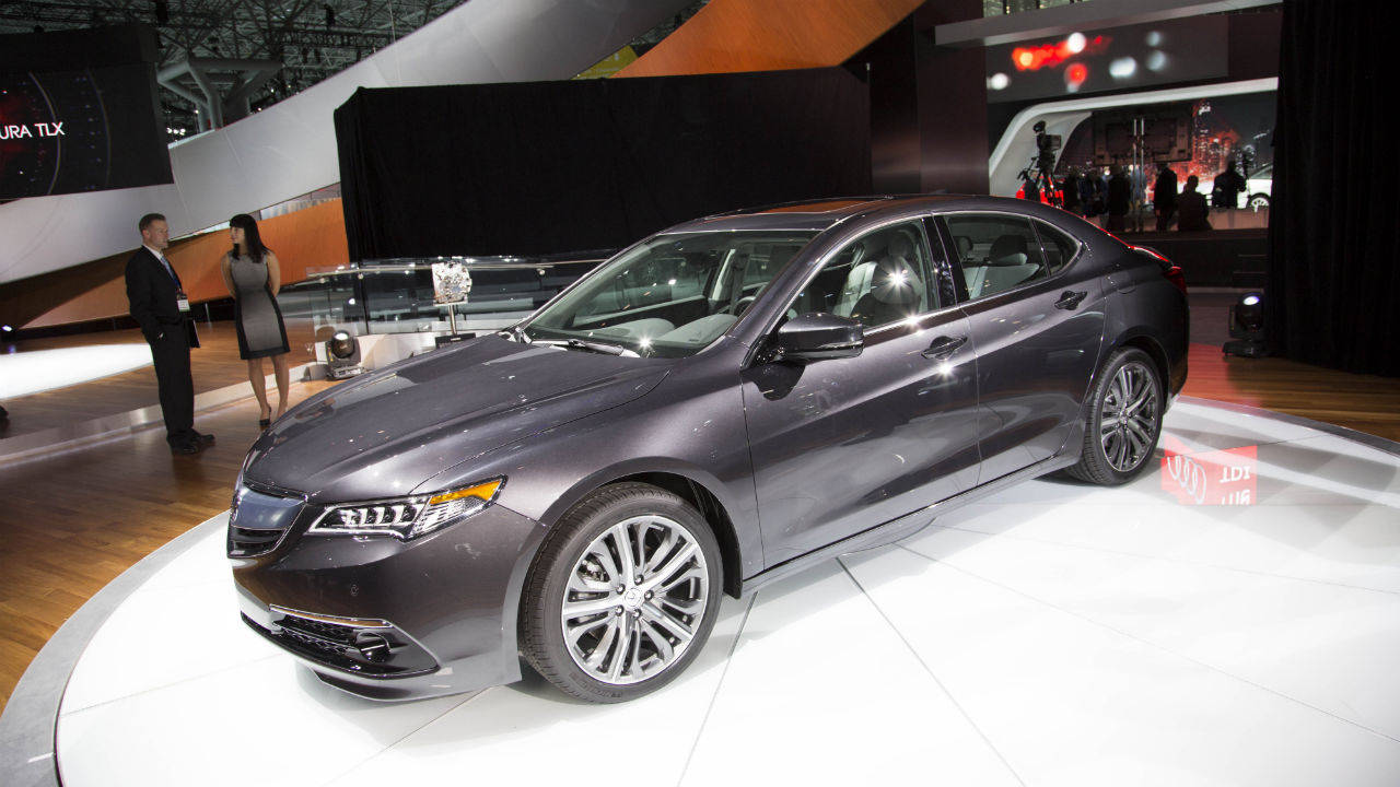2015 acura tlx 2014 new york auto show. Black Bedroom Furniture Sets. Home Design Ideas