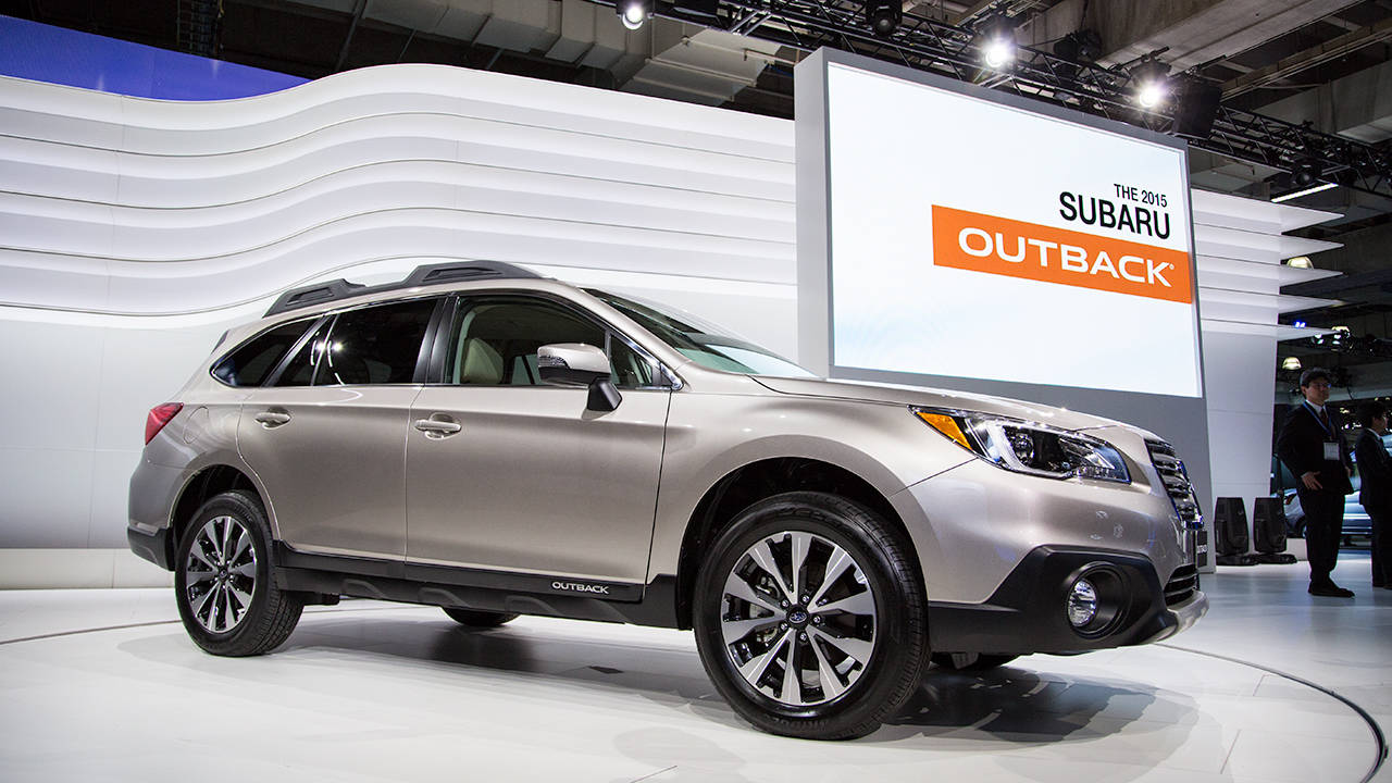 2015 subaru outback 2014 new york auto show. Black Bedroom Furniture Sets. Home Design Ideas