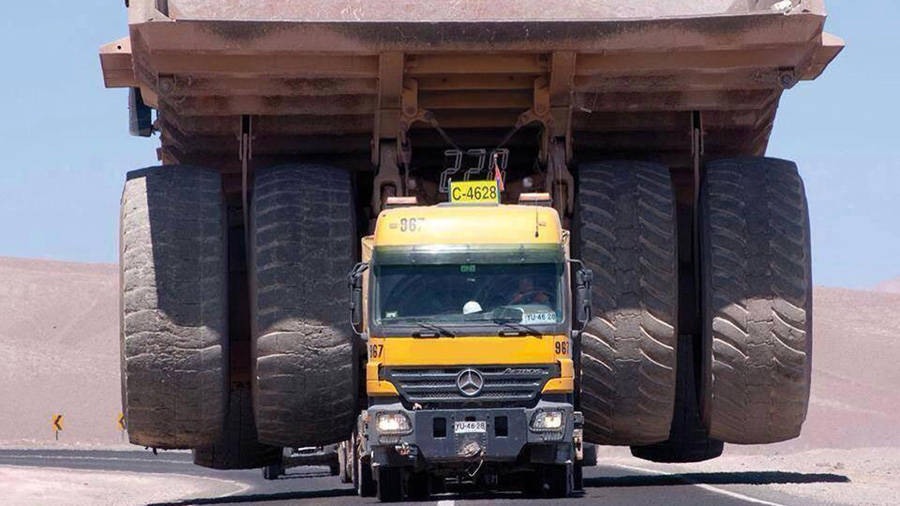 largest mine haul truck - How do you transport a giant, 240-ton mining truck?  Mercedes ...