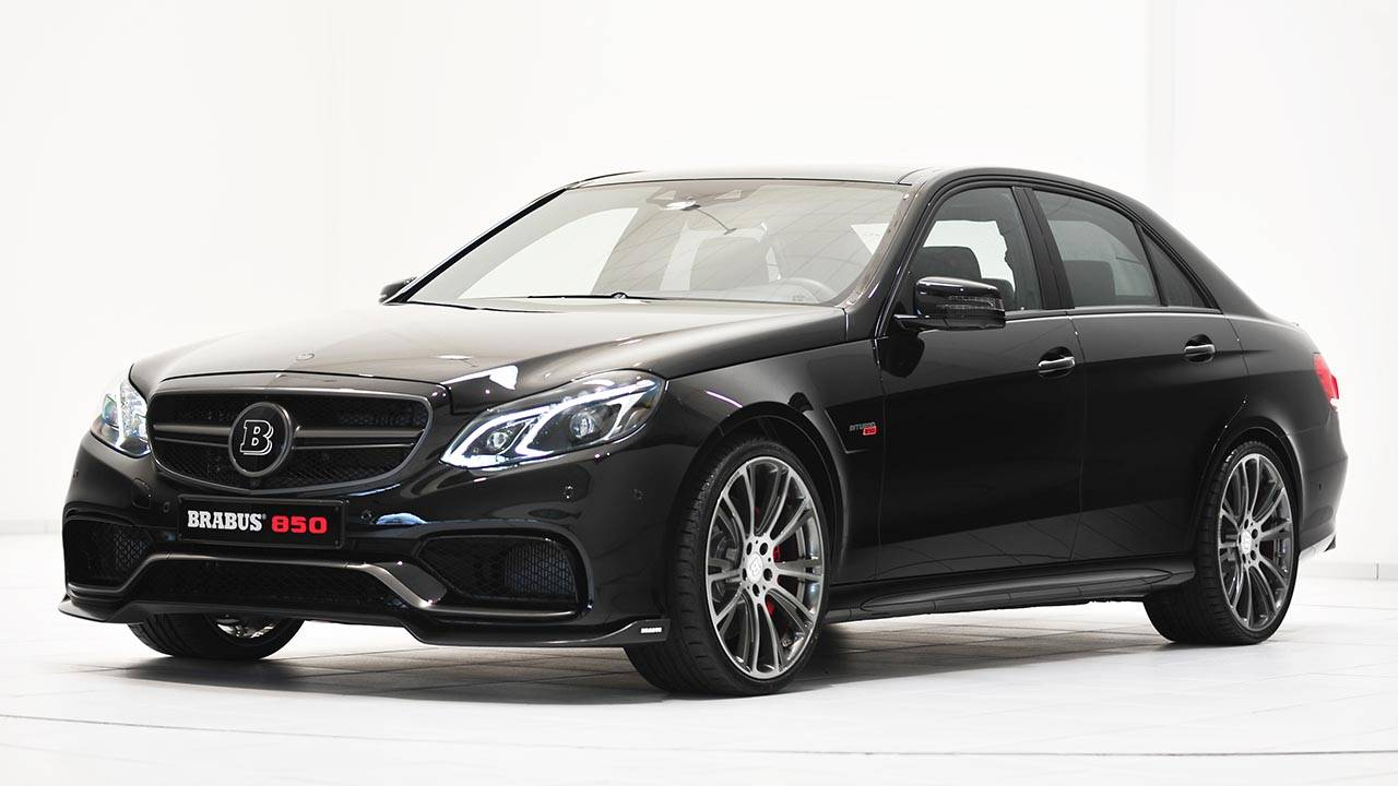 Pay Roadandtrack Com >> Brabus Mercedes E-Class Sedan