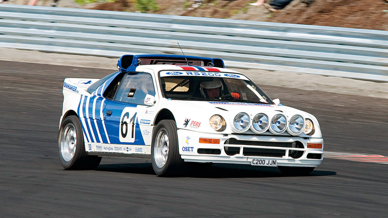 Archive Dive 1986 Ford Rs200 Rally Car