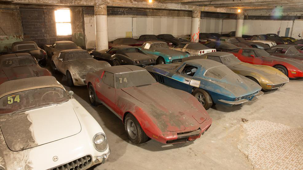 Peter Max Corvette Collection Ultimate Barn Find