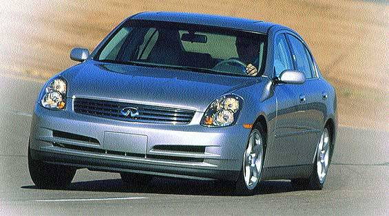 2003 infiniti g35 first drive full review of the new. Black Bedroom Furniture Sets. Home Design Ideas
