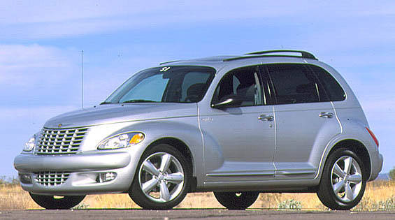 2003 chrysler pt cruiser turbo first drive full review. Black Bedroom Furniture Sets. Home Design Ideas