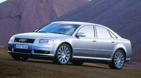 2004 audi a8 first drive full review of the new 2004 audi a8. Black Bedroom Furniture Sets. Home Design Ideas