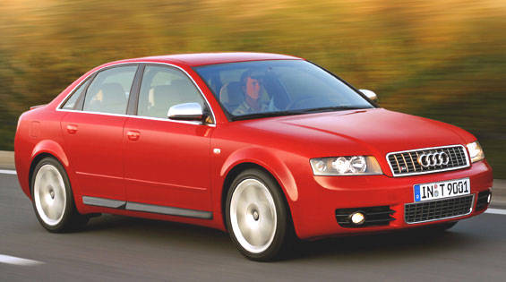 2004 audi s4 first drive full review of the new 2004 audi s4. Black Bedroom Furniture Sets. Home Design Ideas