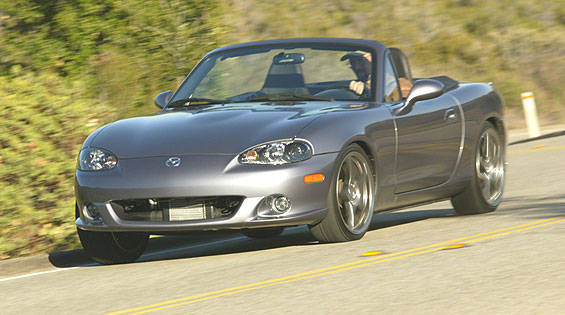 2004 mazdaspeed mx 5 miata first drive full review of the new 2004 mazdaspeed mx 5 miata. Black Bedroom Furniture Sets. Home Design Ideas