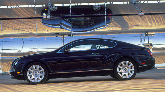 road test of the 2004 bentley continental gt full. Black Bedroom Furniture Sets. Home Design Ideas