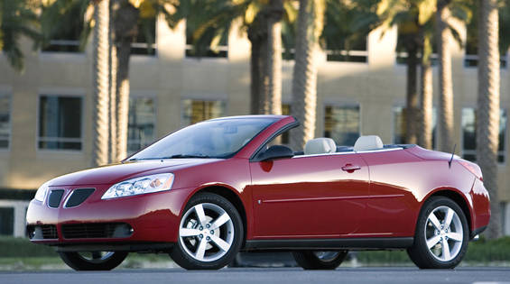 view the latest first drive review of the 2007 pontiac g6 gtp convertible find pictures and. Black Bedroom Furniture Sets. Home Design Ideas
