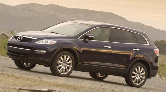 view the latest first drive review of the 2007 mazda cx 9. Black Bedroom Furniture Sets. Home Design Ideas