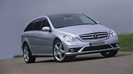 View the latest first drive review of the Mercedes-Benz R63 AMG ...