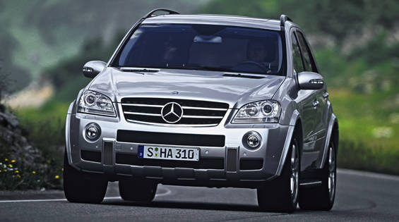 2007 mercedes benz ml63 amg for 2007 mercedes benz suv