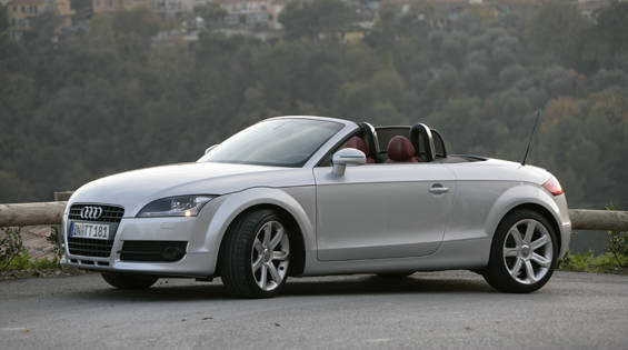 view the latest first drive review of the 2008 audi tt. Black Bedroom Furniture Sets. Home Design Ideas
