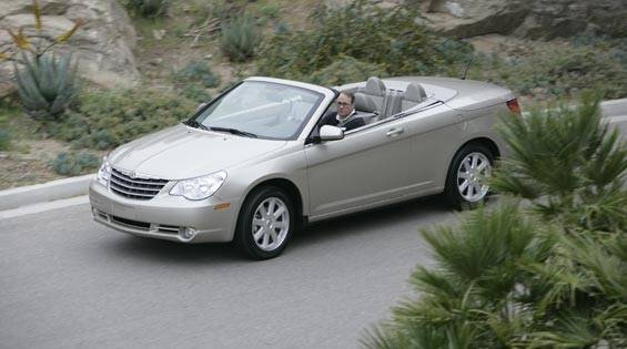first look at the new 2008 chrysler sebring convertible photos and just released details. Black Bedroom Furniture Sets. Home Design Ideas