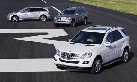 Bluetec diesels the 2009 mercedes benz ml 320 gl 320 and for Mercedes benz gl 320