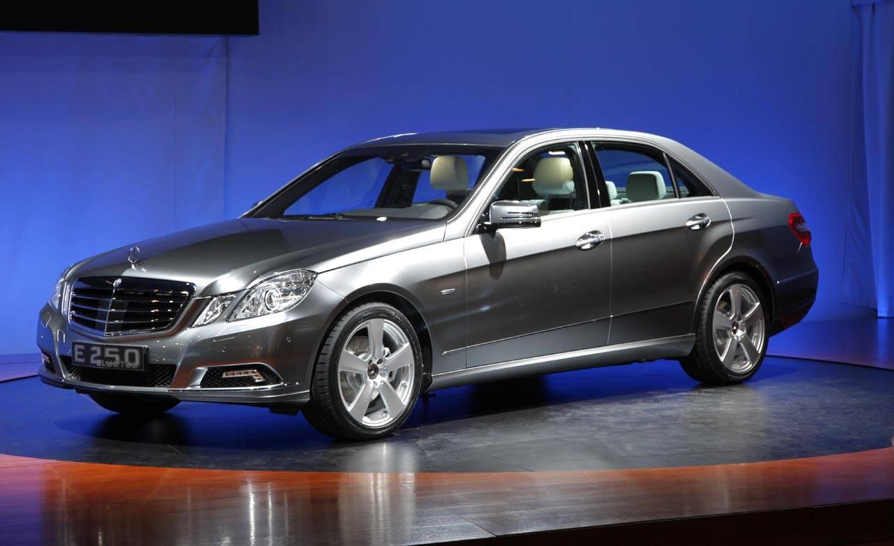 2010 mercedes benz e250 bluetec concept for Mercedes benz e250 bluetec