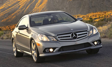 Review of the new 2010 mercedes benz e class coupe full for 2010 mercedes benz e class e350 price