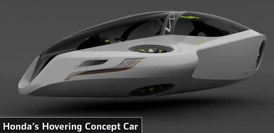 Honda flying car concept