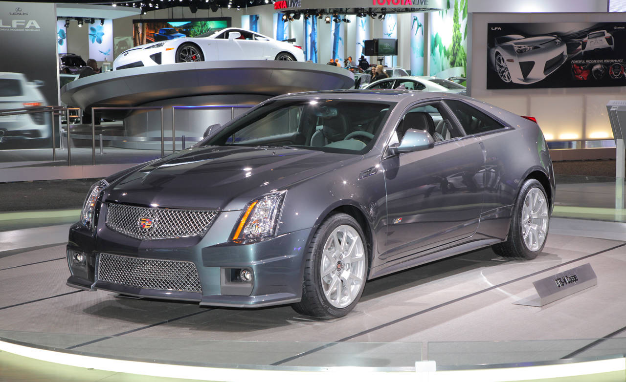 2010 cadillac cts v coupe. Black Bedroom Furniture Sets. Home Design Ideas