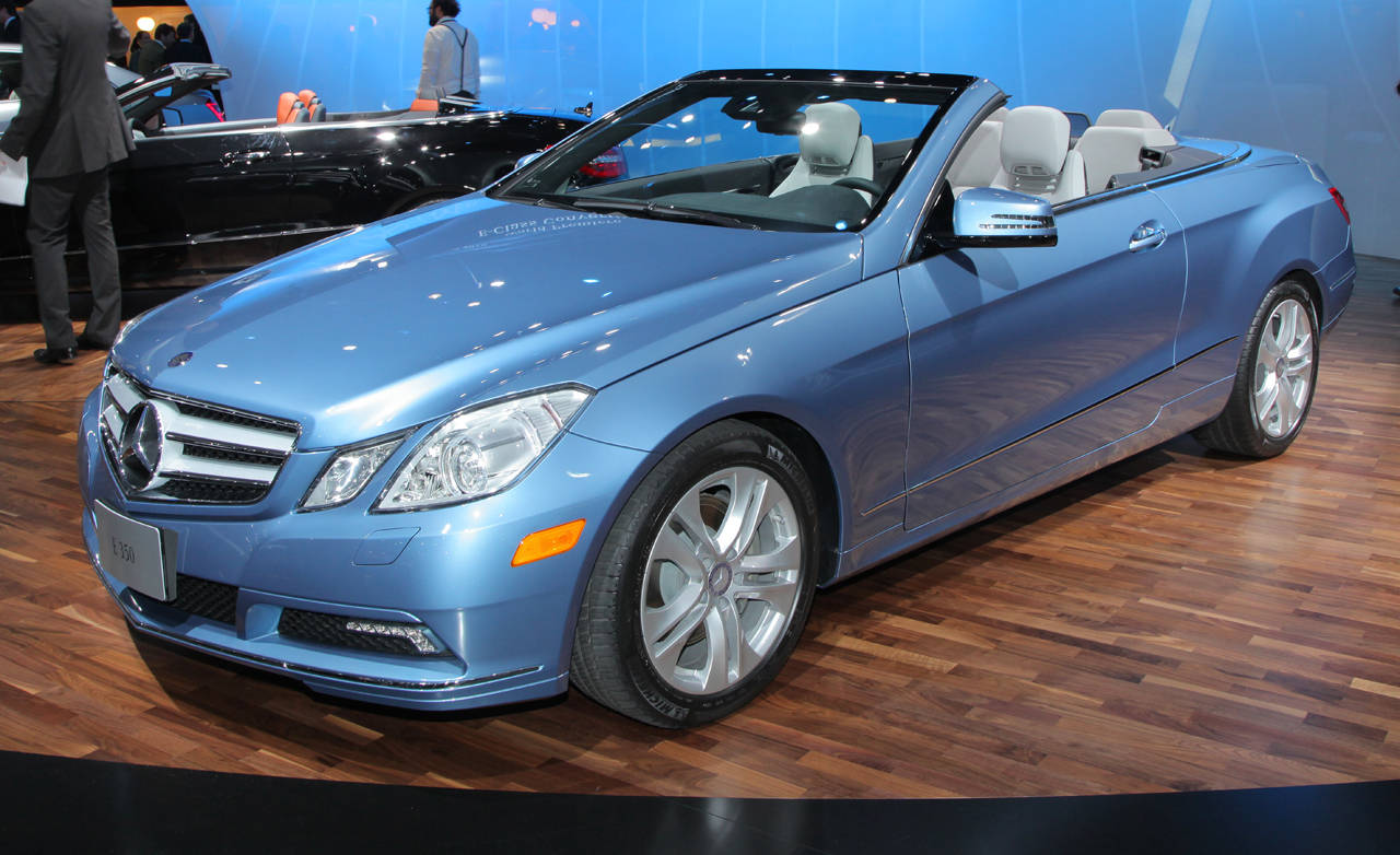 2011 mercedes benz e class cabriolet for Mercedes benz e350 2011