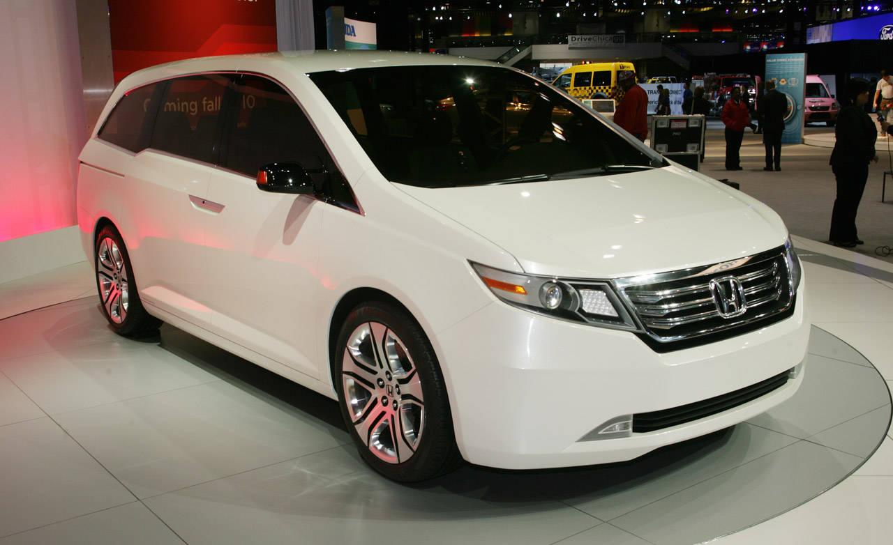 2011 honda odyssey concept for Detroit auto show honda odyssey