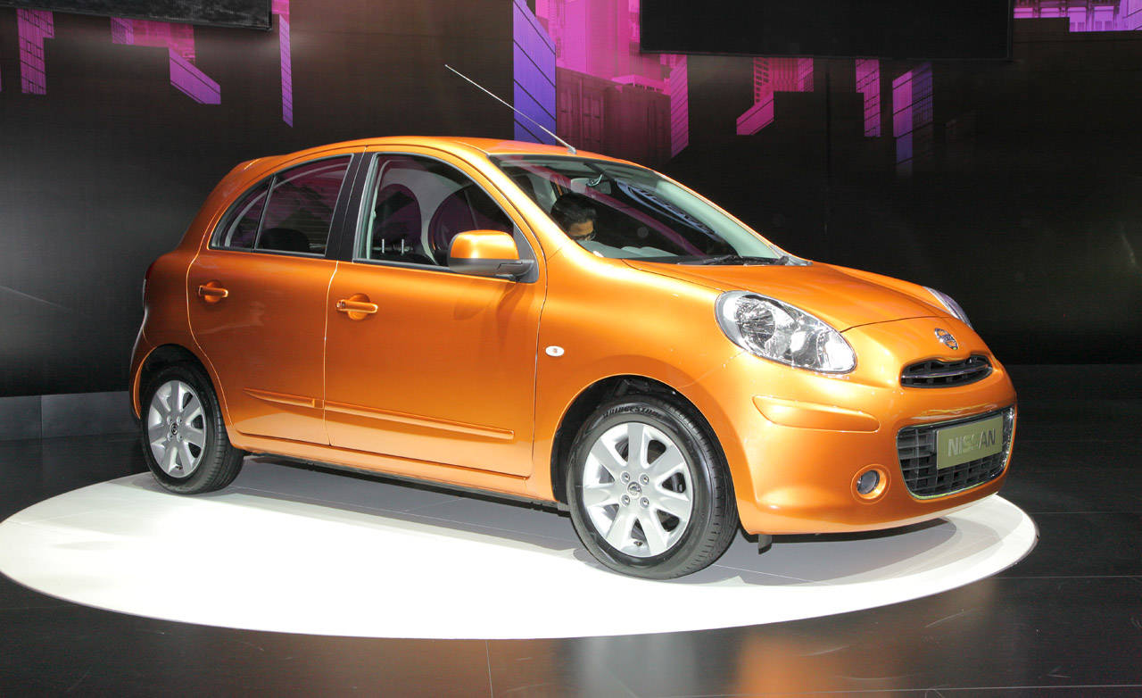 nissan micra 2011 nissan march micra at 2010 geneva auto show. Black Bedroom Furniture Sets. Home Design Ideas