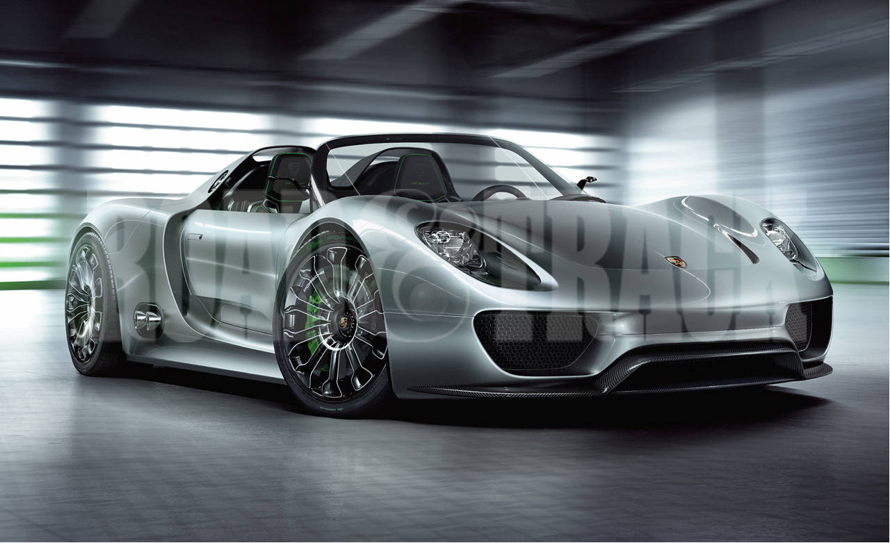sports cars of the future 2013 porsche 918 spyder. Black Bedroom Furniture Sets. Home Design Ideas