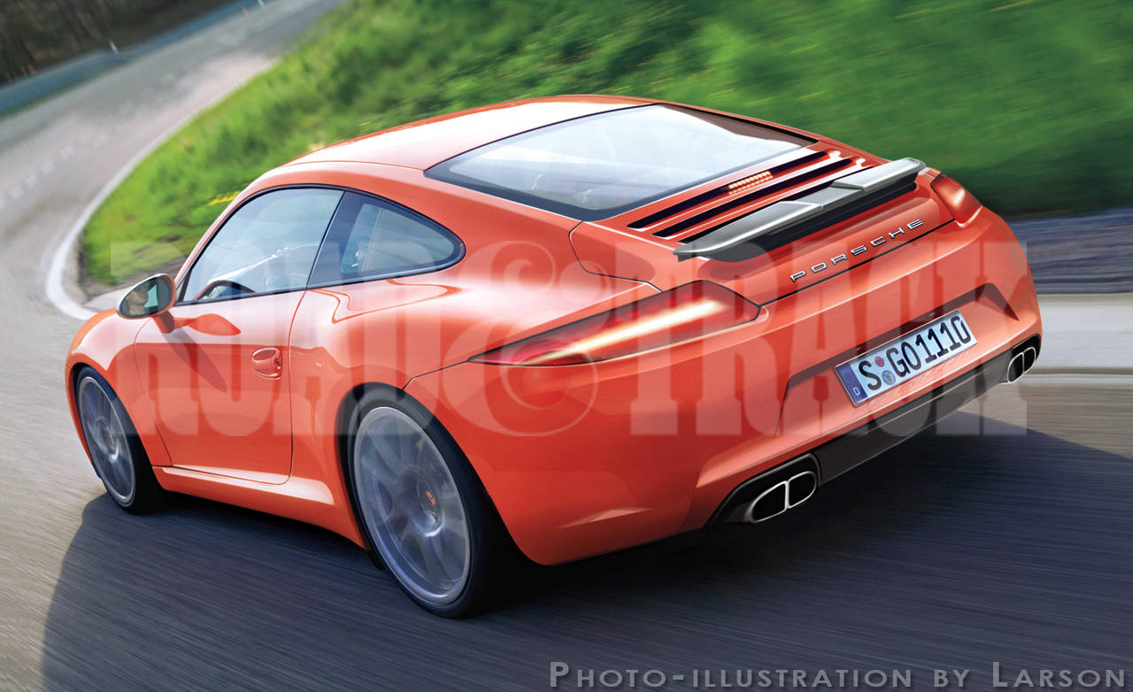 2012 Porsche 911 - New and Future Sports Cars
