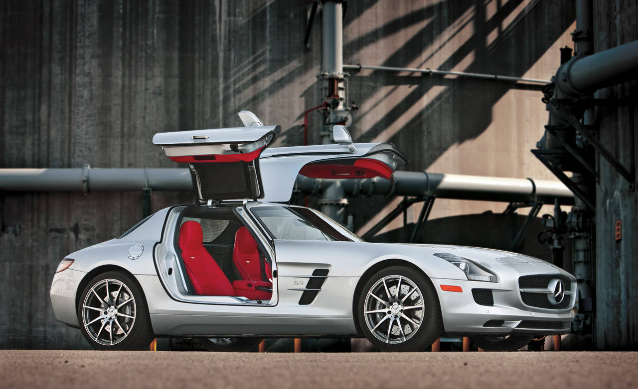 sls amg 2011 mercedes benz sls amg authoritative test. Black Bedroom Furniture Sets. Home Design Ideas
