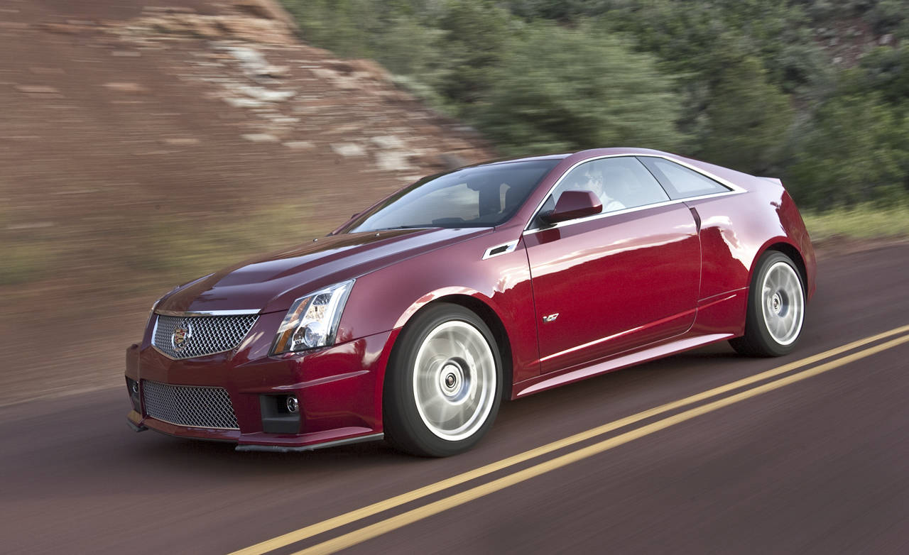 new road test update for the 2011 cadillac cts v coupe more road tests. Black Bedroom Furniture Sets. Home Design Ideas