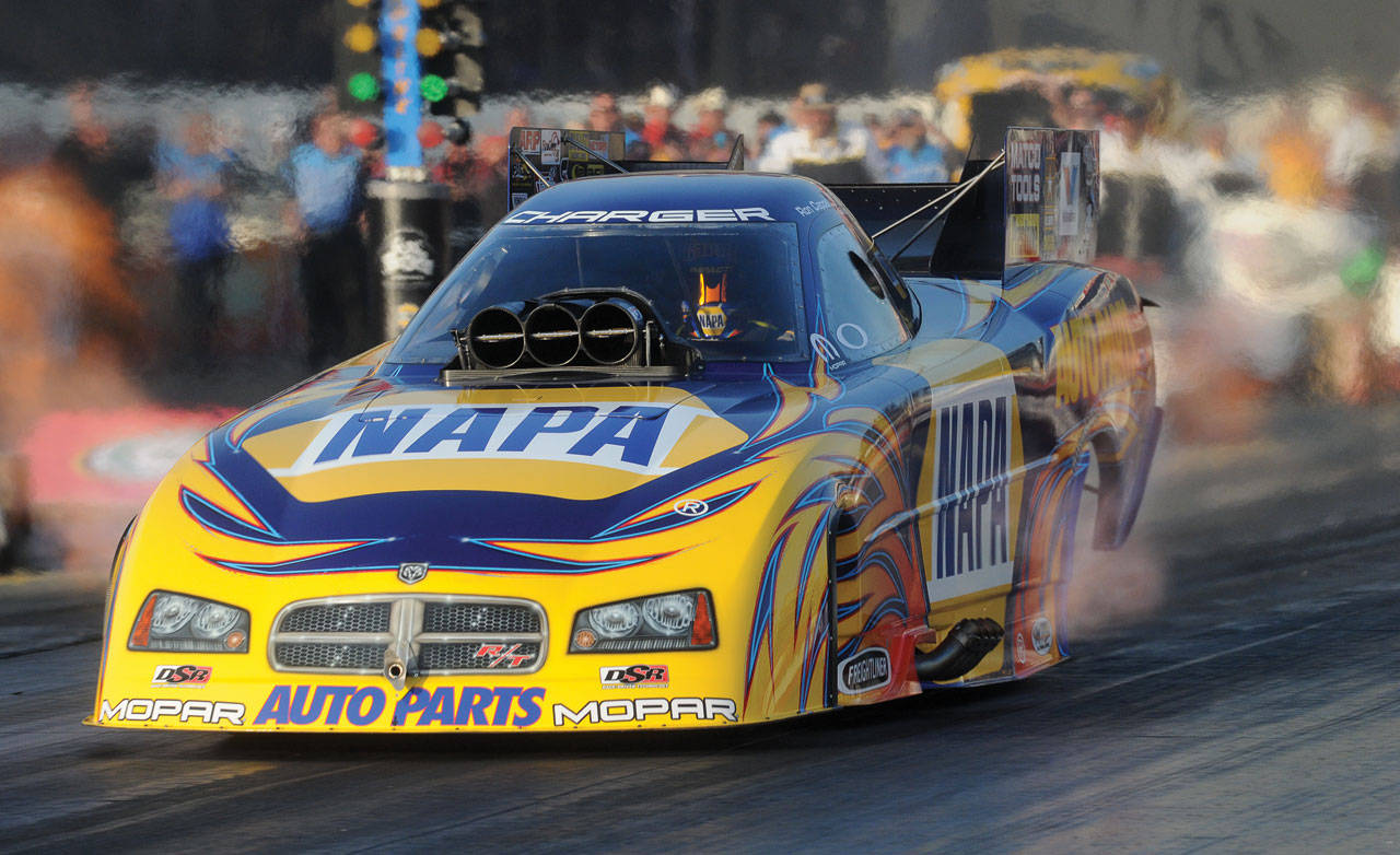 Up Close With An Nhra Funny Car Countersteer By Sam Mitani