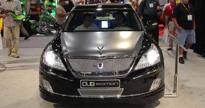 2011 Hyundai Equus Gets Tuned 2010 Sema Show