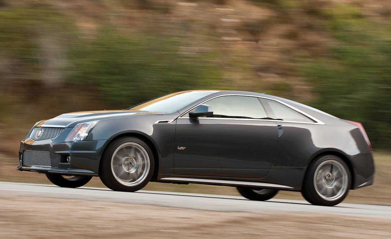 2011 cadillac cts v coupe road test update on cadillac 39 s. Black Bedroom Furniture Sets. Home Design Ideas