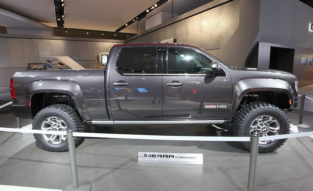 2011 gmc sierra all terrain hd concept at 2011 detroit auto show new truck concept. Black Bedroom Furniture Sets. Home Design Ideas