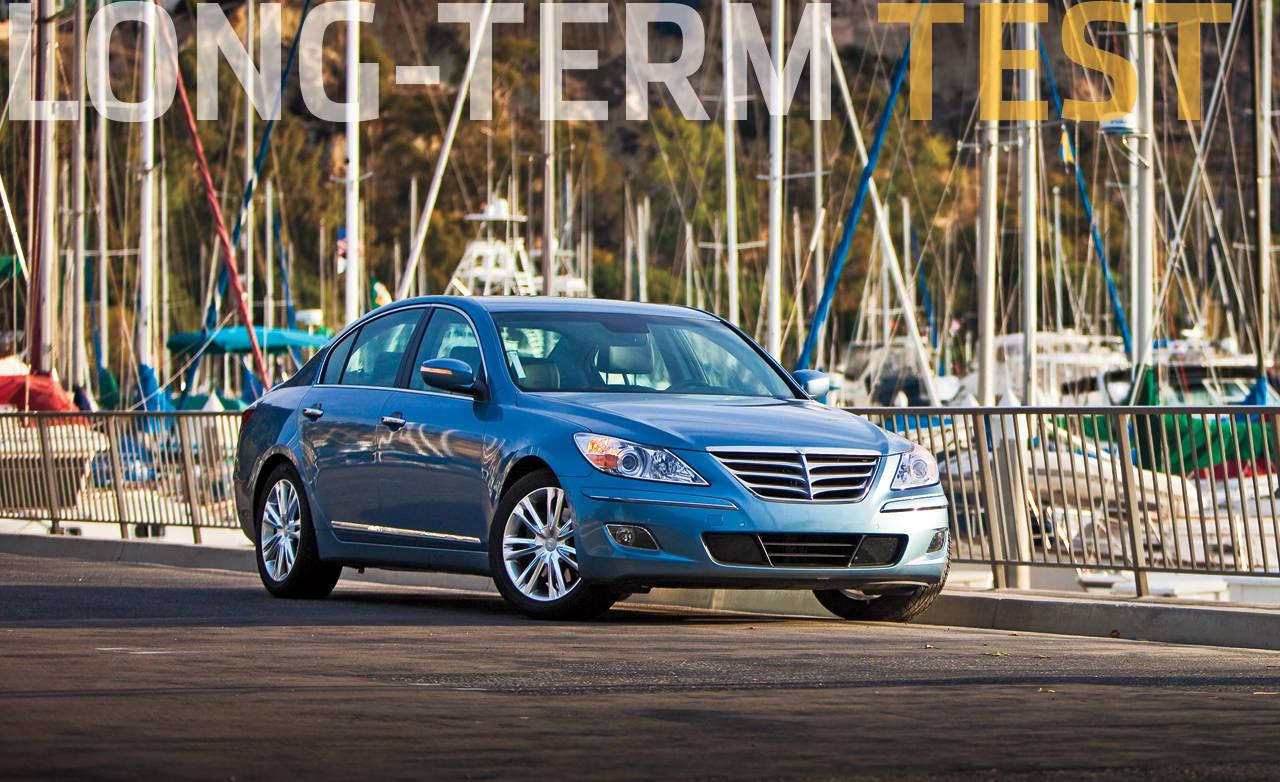2010 Hyundai Genesis Long Term Road Test Review