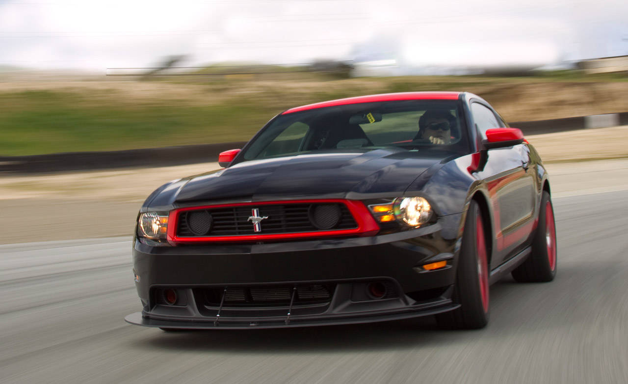 Boss 302 - 2012 Ford Mustang with Laguna Seca Package