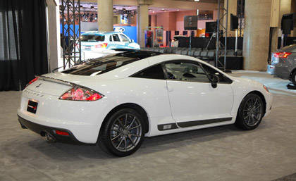 2012 mitsubishi eclipse mitsubishi eclipse special edition at new york auto show. Black Bedroom Furniture Sets. Home Design Ideas
