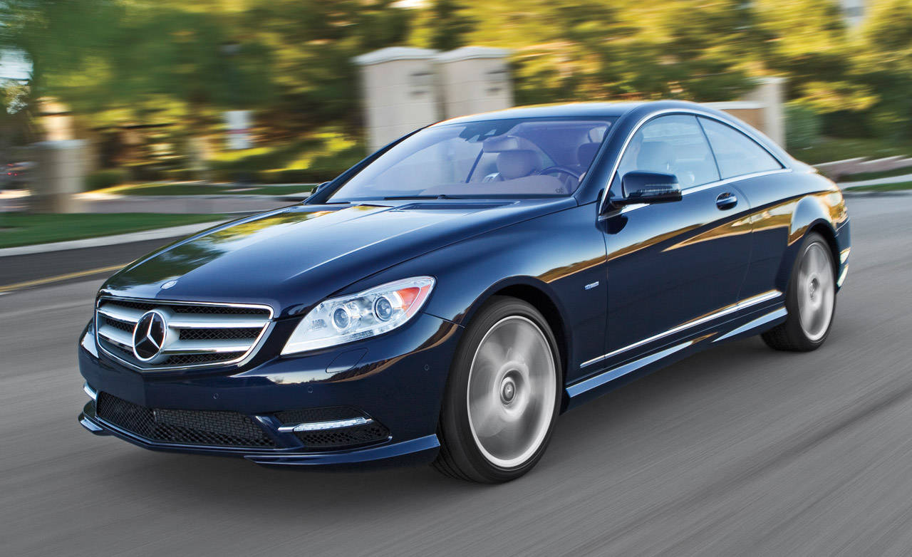 2011 mercedes benz cl550 4matic road test review for Mercedes benz cl550